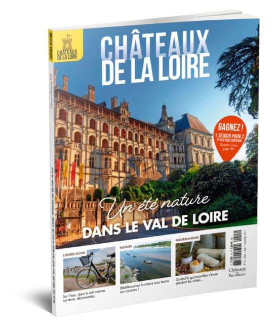 magazine châteaux de la loire